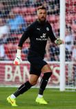 Ben Hamer Ben Hamer de Leicester City en acción du...