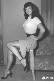 Bettie Page Clase Vintage