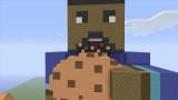 Minecraft Xbox 360 BigB s mapa del Reino Cookie