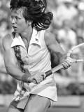 Billie Jean King leyenda del tenis de Estados Unid...
