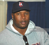 Bo Jackson durante Nueva York Sports Collectors Sh...