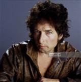 El cantante Bob Dylan es fotografiado en un rodaje...