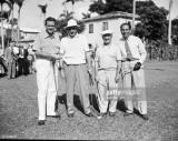 Golfistas Robert Sweeny Tommy Armadura Bobby Cruic...