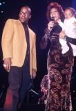 Bobby Whitney Houston y Bobbi Kristina