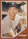 Bobby Richardson, segunda base de los yanquis, est...
