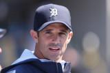 Brad Ausmus El gerente de los Tigres de Detroit Br...