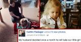 Caitlin Fladager Describe a Adorable Papá y