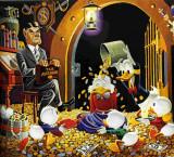Carl Barks imágenes Carl Barks Pinturas al óleo HD...