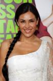 Carla Ortiz Carla Ortiz llega al estreno de Warner