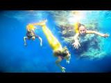Nadando en el mar por Carla Underwater