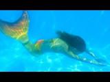 Sirena subacuática de Carla