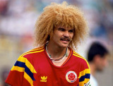 Carlos Valderrama Colombia WK1990 Deporte