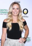 Caroline Wozniacki Prueba de evento de tenis en la...