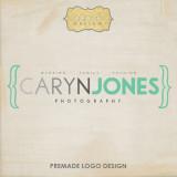 Caryn Jones Premade Diseño de logotipos con marcas...