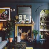 Pintar el negro 15 negritas y hermosas paredes osc...