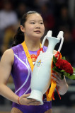 Cheng Fei gana las mujeres de salto de oro en la F...