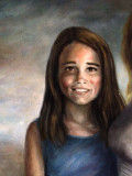 Chloe Detalle de la pintura de Madison