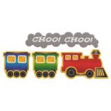 Hierro en transferencia Choo Choo bebé del tren
