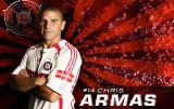 Chris Armas jugador profesional de fútbol Chicago...