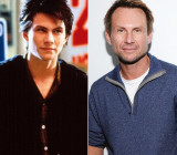 Christian Slater 80s Hunks entonces ahora