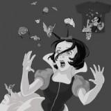 Hitchcock s Snow White en Threadless por artista
