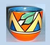 La cerámica Clarice Cliff es inmediatamente recono...