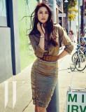 Claudia Kim Models Elegante Hamilton Relojes En Co...