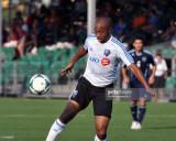 El centrocampista Collen Warner 18 del Montreal Im...