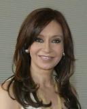 La Presidenta de Argentina, Cristina Fernández de