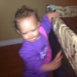 Niyah nuevo pelo estilo rubio rizos púrpura pjs ho...