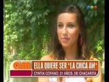 Cynthia Cofano quiere ser La Chica