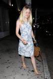 Dakota Fanning va a cenar en Los Ángeles