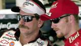 Dale Earnhardt y Dale Earnhardt Jr