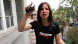 Daniela Ramírez corre la Energizer Night Race y