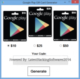 Google Play Gift Card Generator 2014 Descarga grat...
