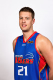 Daniel Johnson de Adelaide 36ers plantea durante