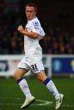 Danny Johnson de Tranmere Rovers en acción durante