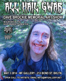 Dave Brockie Memorial Art Show Video Informe de ap...