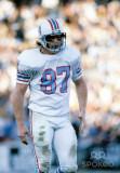 Dec 28 1980 Houston Oilers apretado final Dave Cas...