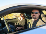 Dave Turín y Andy Spinks de Gold Rush Drive Coches...