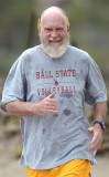 David Letterman es Balding Barba y parece tan feli...