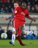 Dele Adebola Dele Adebola de Nottingham Forest en...