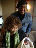 GloZell Green da la bienvenida a su hija Zell Glor...