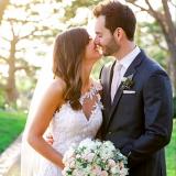 Desiree Hartsock y Chris Siegfried casados ofici...
