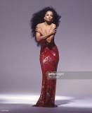 La cantante Diana Ross posa para un retrato en 198...