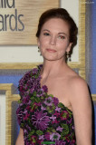 Diane Lane lleva un vestido froral en 2016 Writer...