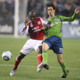 Diego Chara Álvaro Fernández 15 del Seattle Sounde...