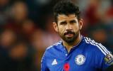 Diego Costa, delantero del Chelsea Diego Costa, po...