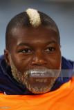 Djibril Cissé de Francia mira antes de la Copa Mun...