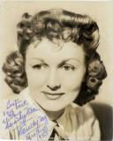 Firmado Fay Dorothy Ritter 8x10 B W Original Todav...